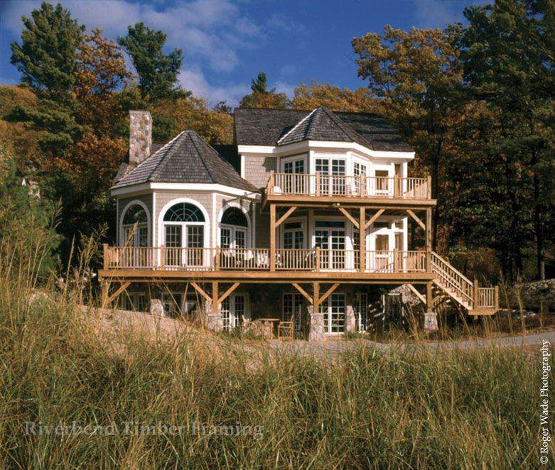StoneMill Log & Timber Homes Timber Frame Projects | Timber frame ...