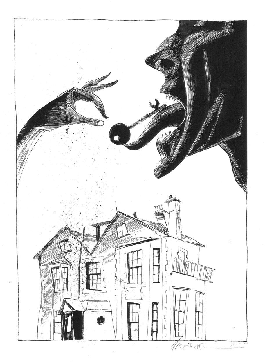 Dave McKean, illustrator, Coraline