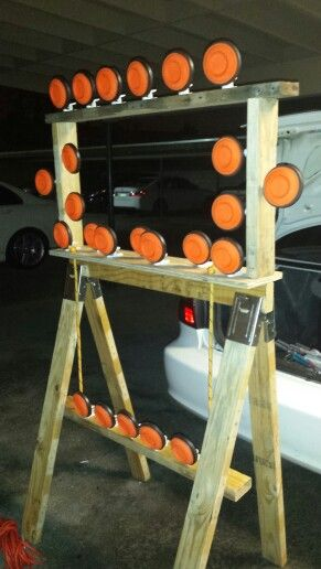 3 Tier Pigeon Clay Target Stand Made Under 30 Min With