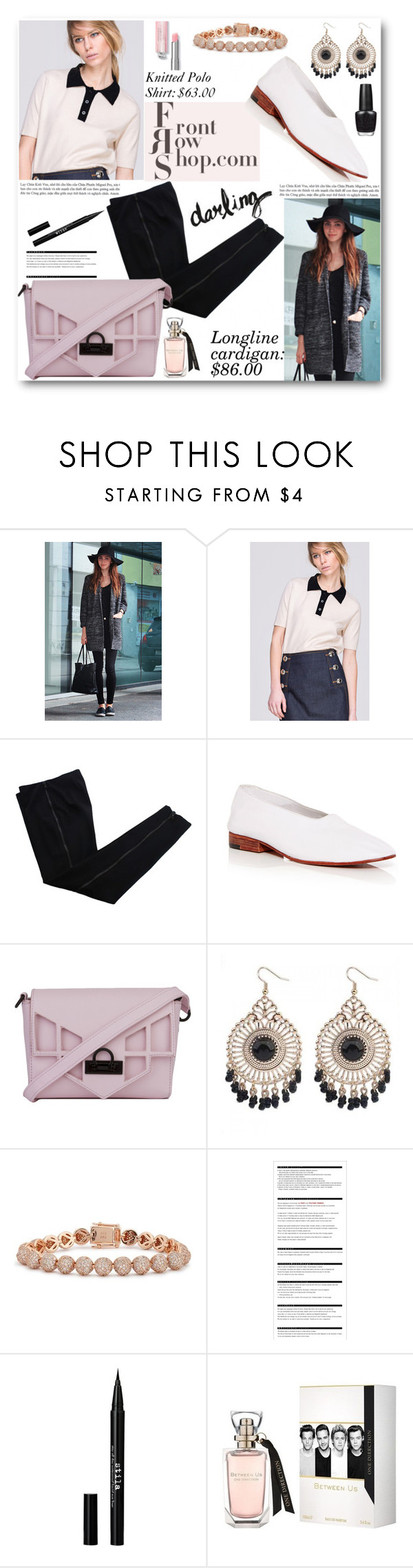 """Frontrowshop September Contest"" by angelstar92 ❤ liked on Polyvore featuring Front Row Shop, COSTUME NATIONAL, Martiniano, Nila Anthony, Eddie Borgo, Arche, Stila and OPI"