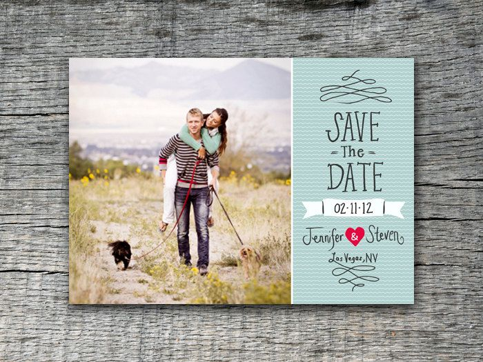 17 Best images about Save the Dates on Pinterest | Vintage ...