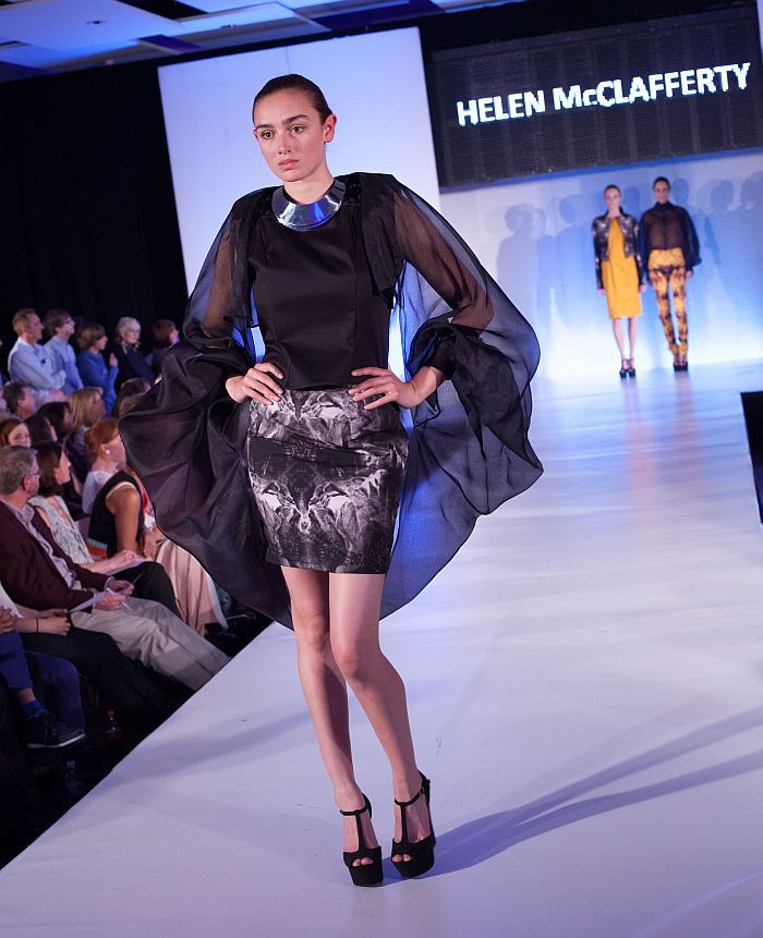 Fashion student Helen McClafferty's 'Dante's Inferno' collection