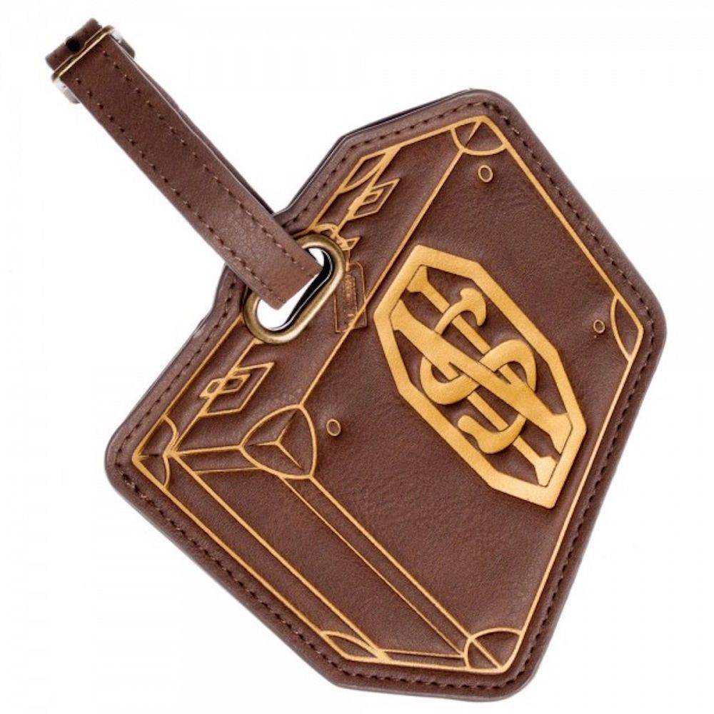 Fantastic Beasts Suitcase Style Luggage Tag ID Holder Licensed NWT #BW