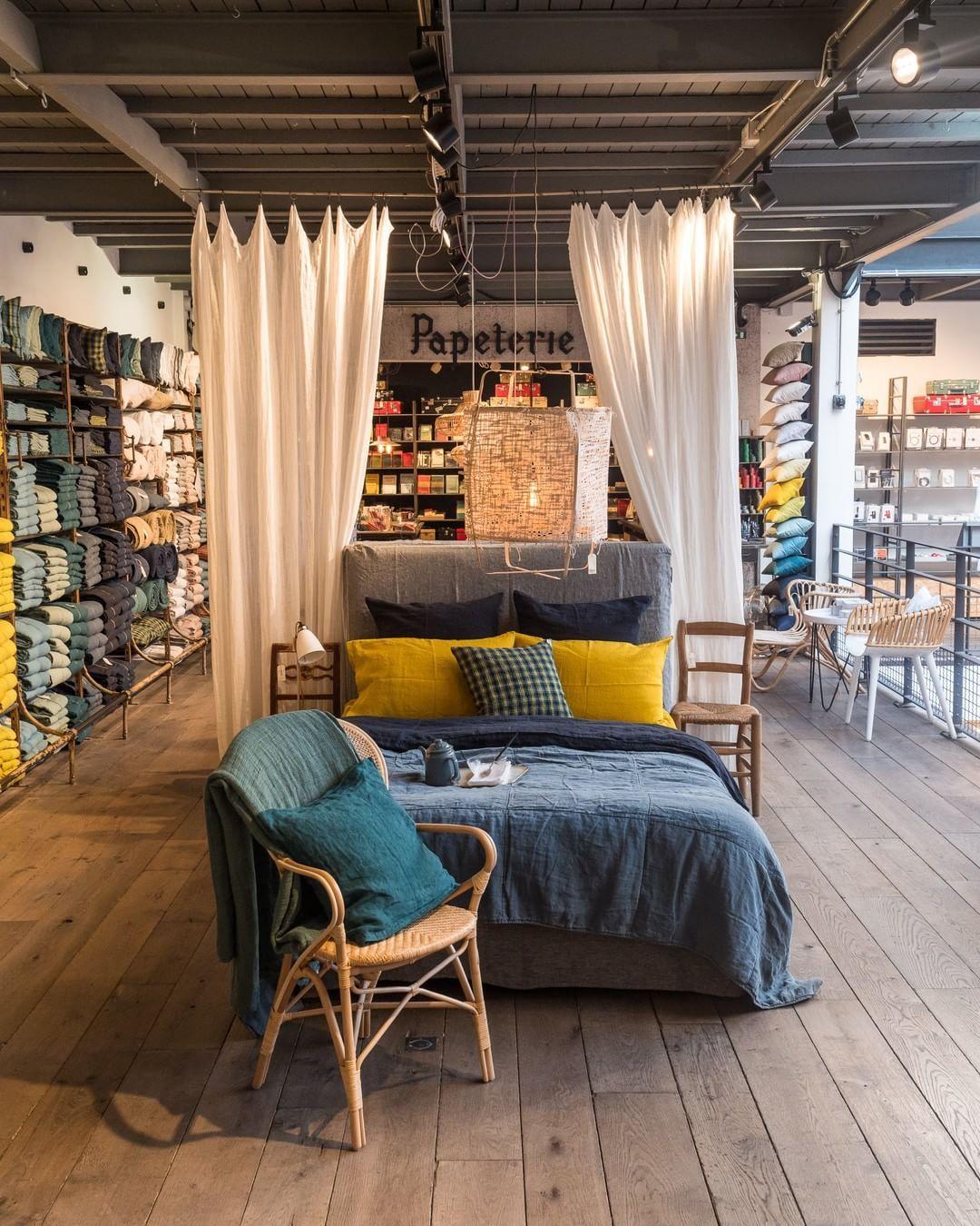 Cosy Atmosphere With This Color Palette Merciparis Mercilamaison Linen Bedlinen Color Palette Home Decor Linen Bedding