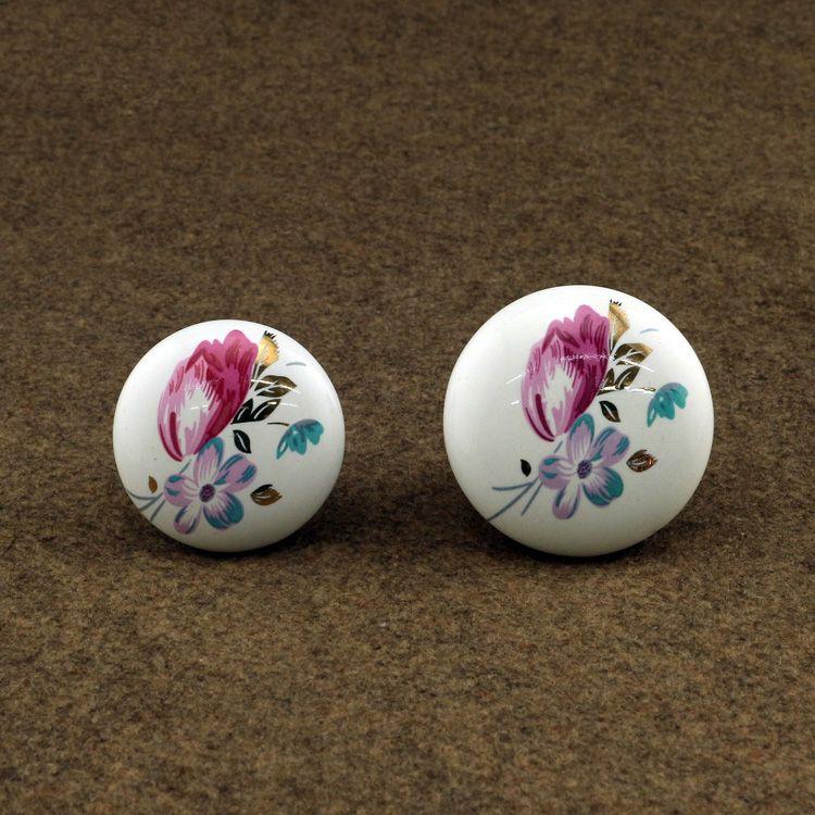 $12.99 (Buy here: http://appdeal.ru/8qg5 ) kitchen cabinet Knobs ceramic drawer cupboard dresser furniture door knob handle porcelain knobs for just $12.99