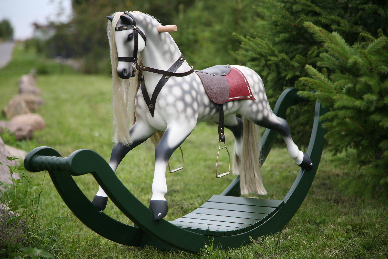 Large Merrilegs Wooden Rocking Horse Handmade