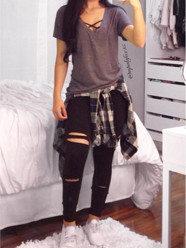Outfits con bralettes para llevar a la escuela sin sentirte muy exhibicionista | Clothes ...
