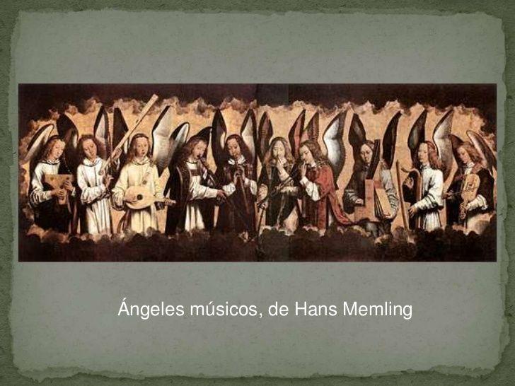 Resultado de imagen de memling angeles musicos