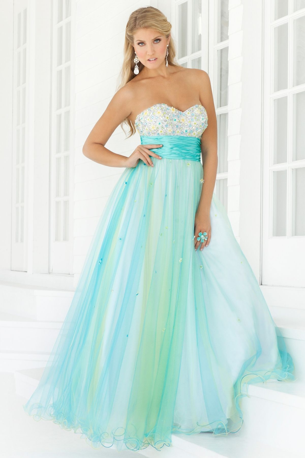 $214.67 Buy Absorbing Sweetheart A-line Hottest Prom Dresses PD ...