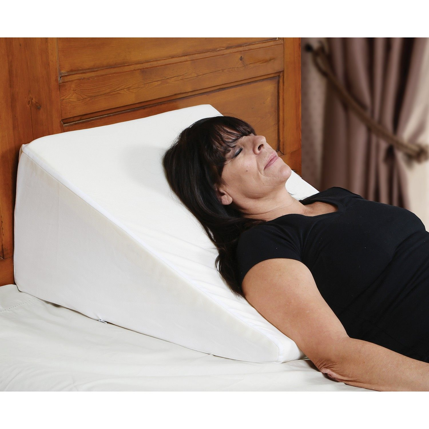Support Plus Bed Wedge Pillow Memory Foam Cushion
