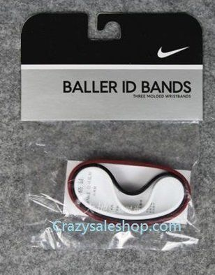 Nike baller id bands for adult Lebron James (Miami Heats