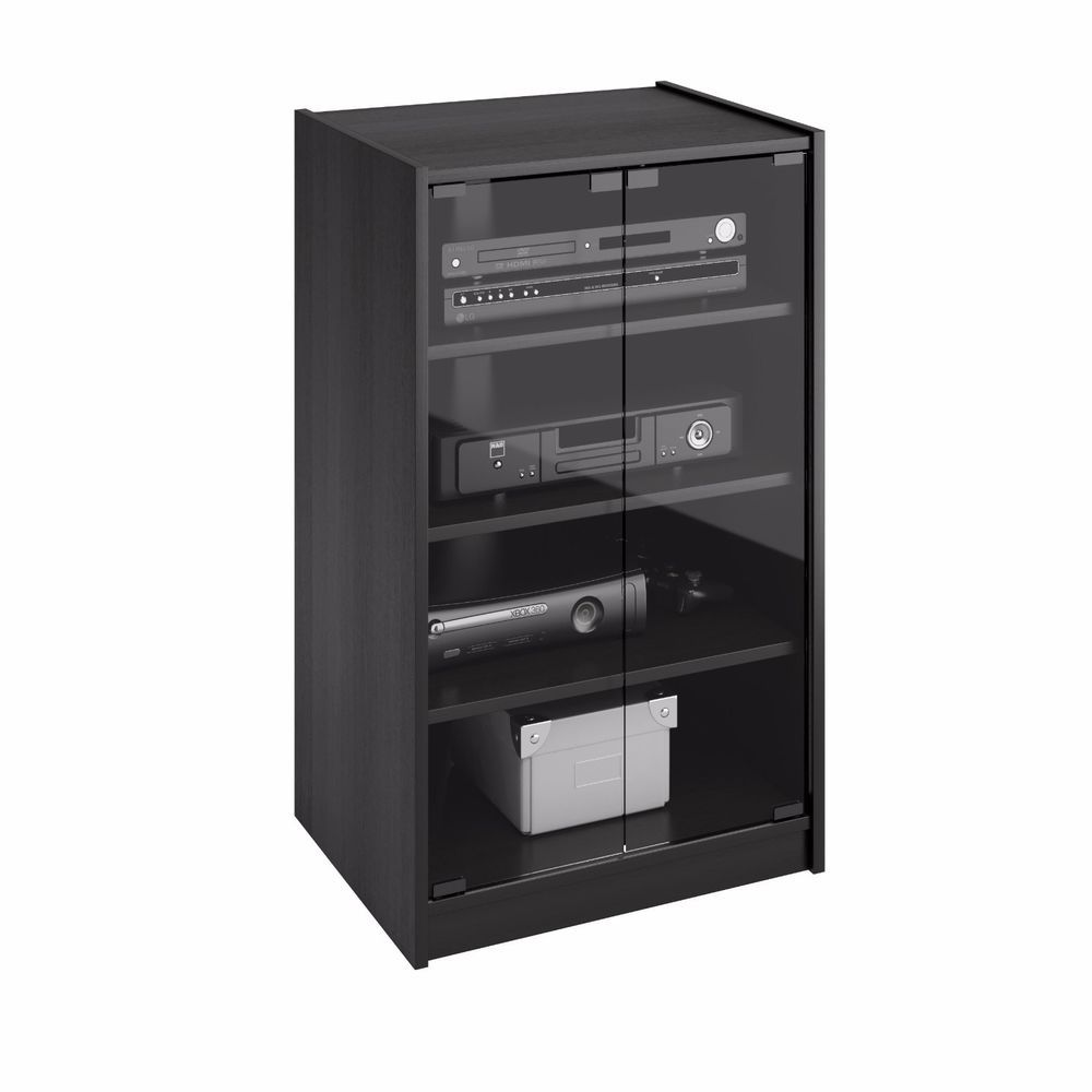 Electronic Component Stand Audio Media Tv Stereo Cabinet Entertainment Gaming Media Storage Cabinet Stereo Cabinet Corliving
