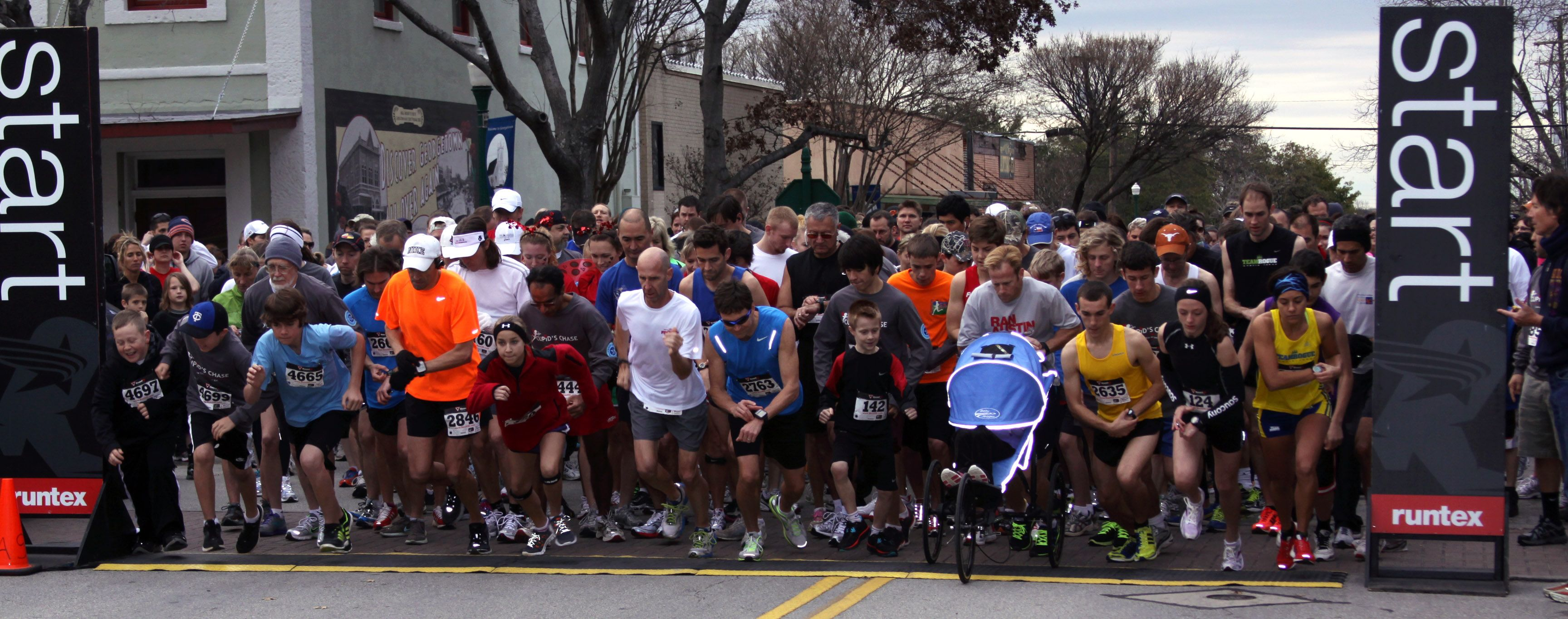 The first race! 2014 Cupid's Chase 5k Run/Walk & Kid's Fun Run, benefiting Georgetown Parks & Recreation #runforcharity #fundraise #charity #charitymiles #run #running #helpingout #gofundme #5k #everymilematters #runkat