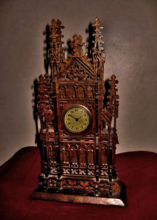 This Unusual Antique Clock Is A Made Circa Repinned