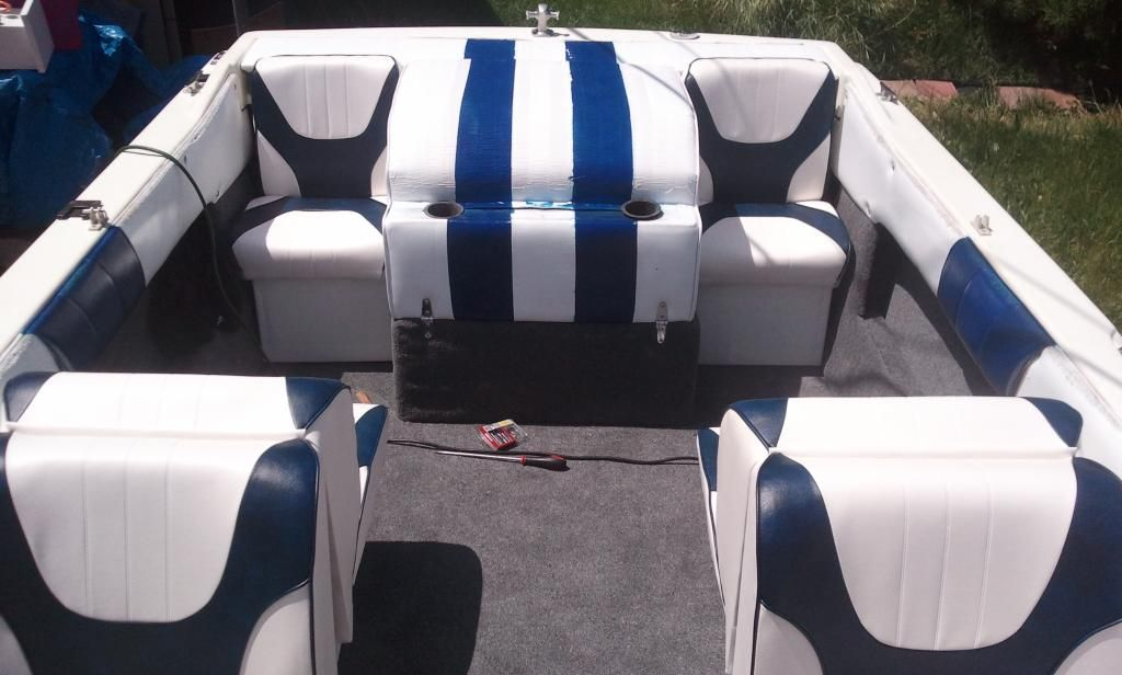 how to build back to back boat seats