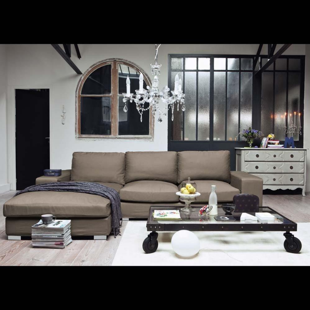 Eckcouch taupe  Sofa Fünfsitzer-Ecksofa, nicht ausziehbar, taupe New York | Sofas ...