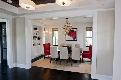 Quick Living Room And Flooring Update Beneath My Heart Red Dining Room Traditional Dining Rooms Dining Room Interiors