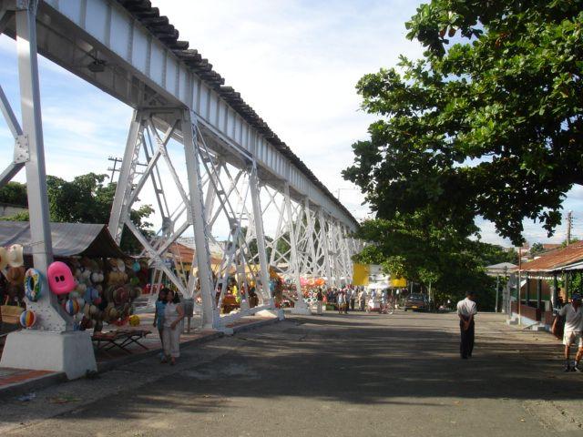 Puente del Ferrocarril, Flandes, Tolima, Colombia