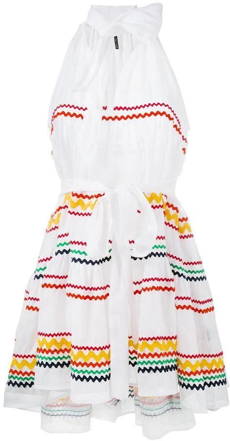 ac290e1358 Lisa Marie Fernandez Ric Rac mini dress