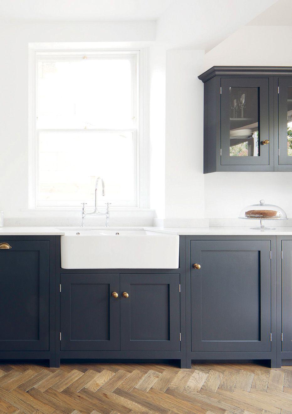 navy u0026 brass shaker style cabinets stunning kitchen cabinets