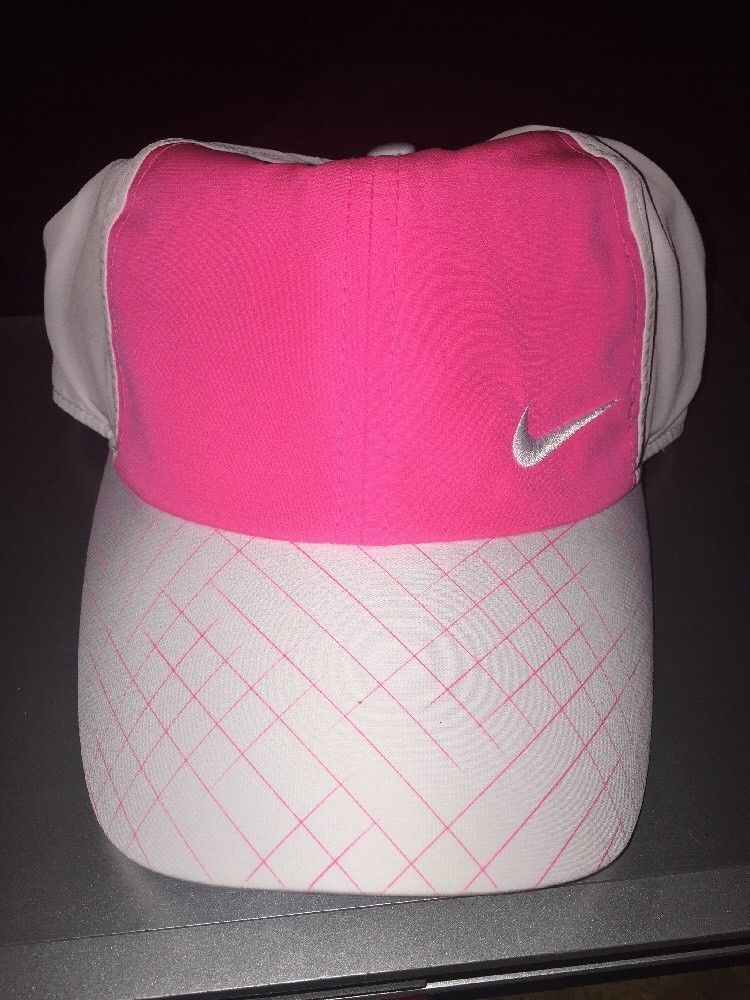 Nike Womens Golf Tennis Hat White And Pink Heritage 86 Dri Fit Fashion Clothing Shoes Accessories Womensclothin Nike Womens Golf Nike Women Ladies Golf