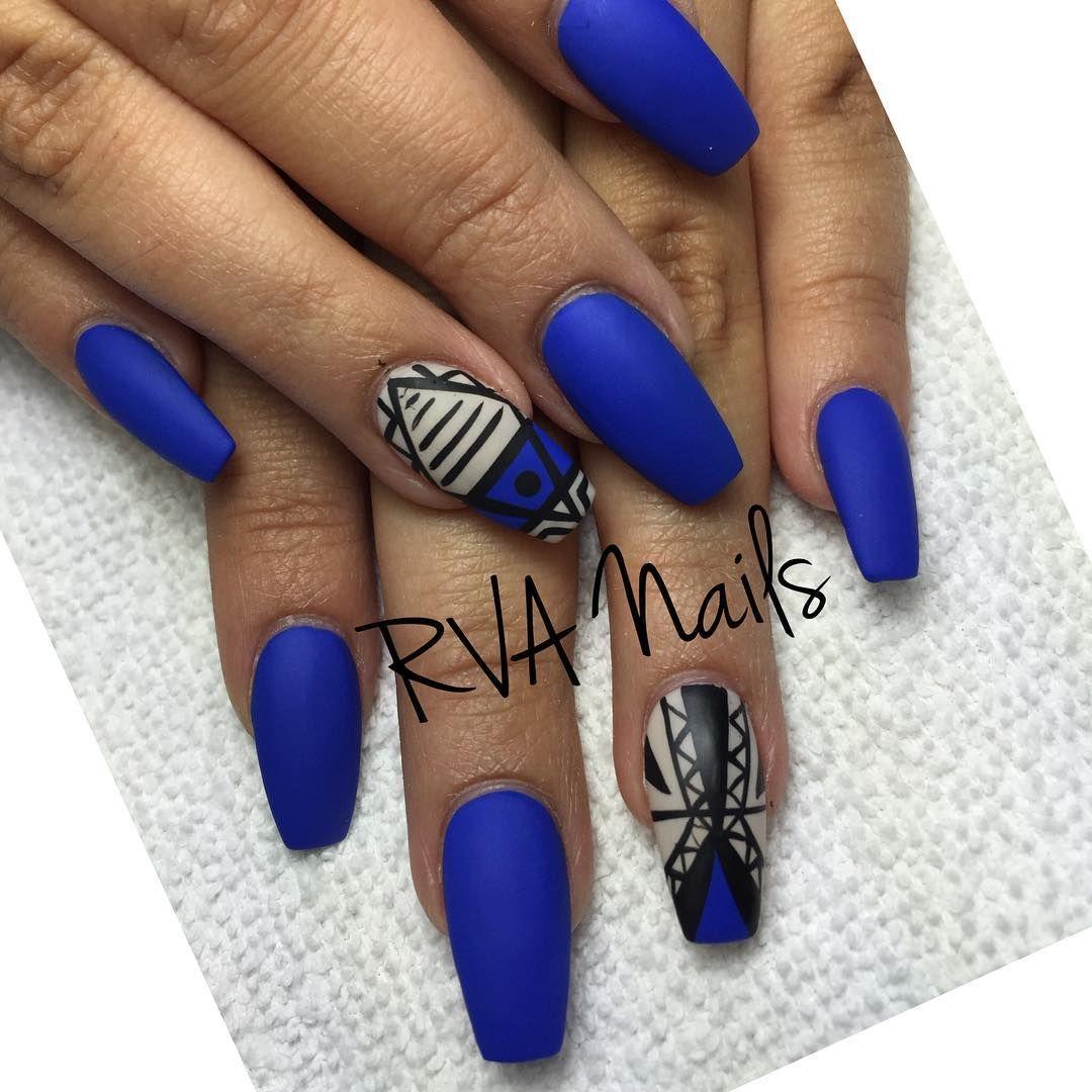 Coffin nails @KorTeN StEiN☻ | Nails!!!! | Pinterest