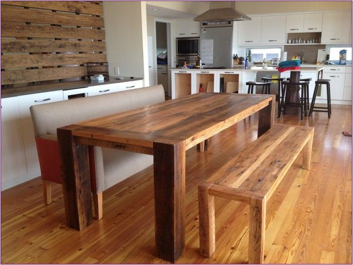 Reclaimed Wood Dining Table Nj
