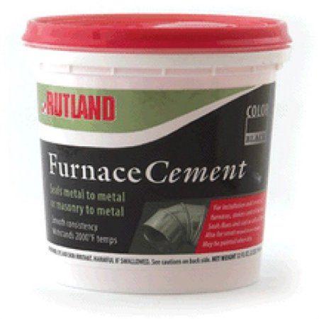 Black Furnace Cement Tub 16 Fl Oz Walmart Com In 2020 Furnace Cement Rutland
