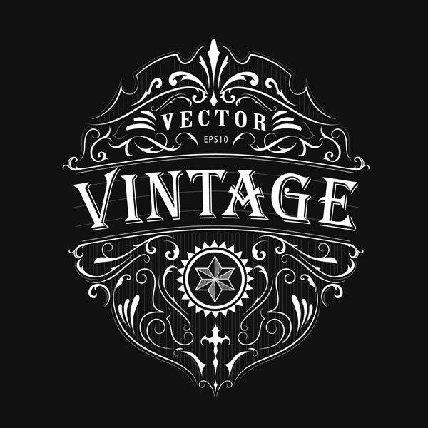 Nimaxs Max On Behance Vintage Typography Vintage Typography Design Antique Logo Design