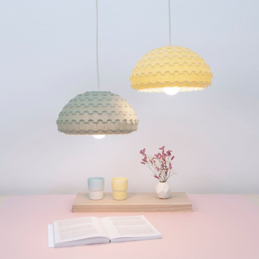 Yellow and green ceiling lamps kasa light dstudiostore lamps