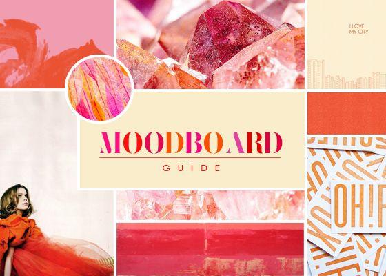 Panduan desain Moodboard