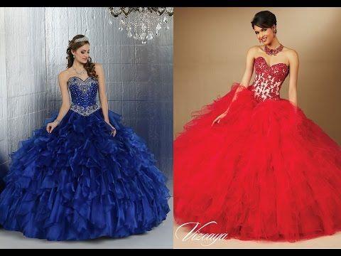 52b866b5e4 Los vestidos de 15 años mas hermosos del mundo - YouTube