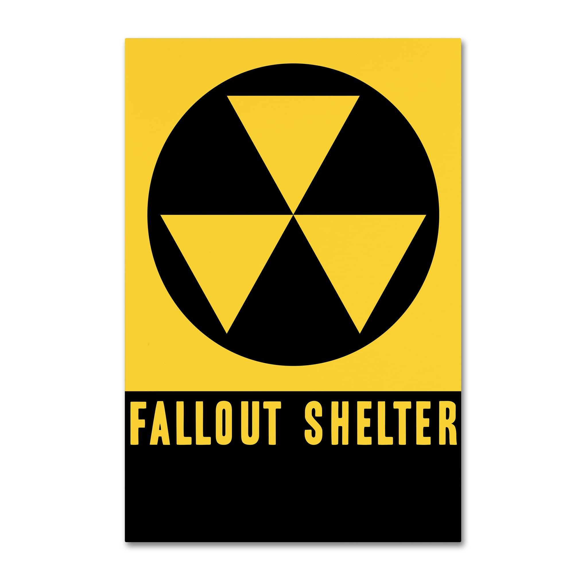 Vintage Apple Collection \'Fallout Shelter\' Canvas Art | Products ...