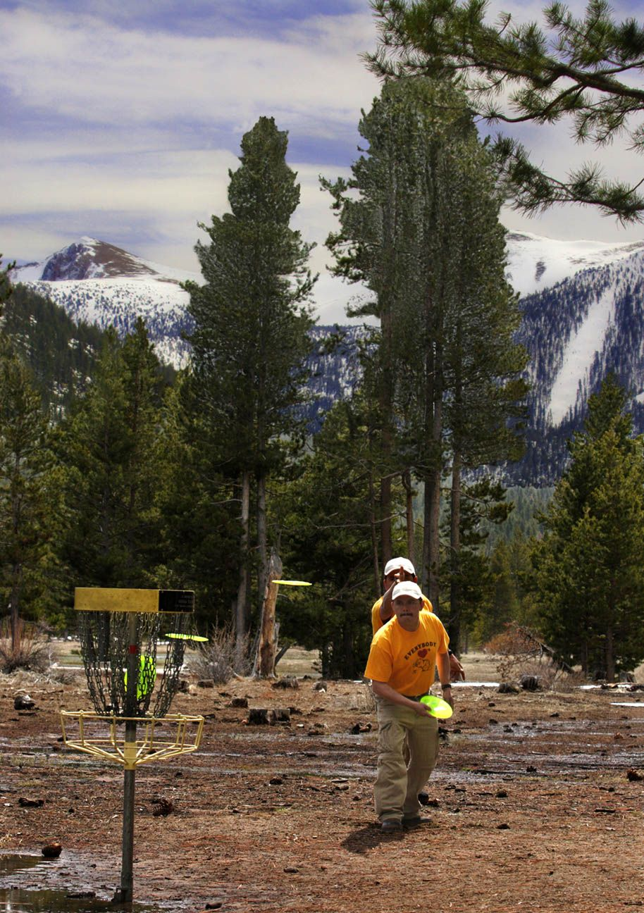 Lake Tahoe Disc Golf Course Disc golf courses, Golf