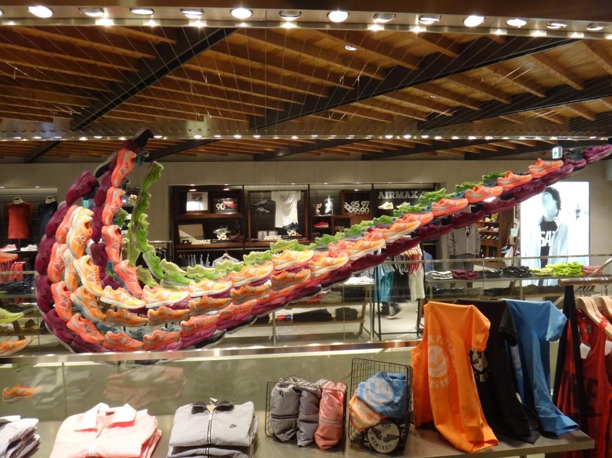 Pin by Rasmus Hansen on Environmental Design   Nike store