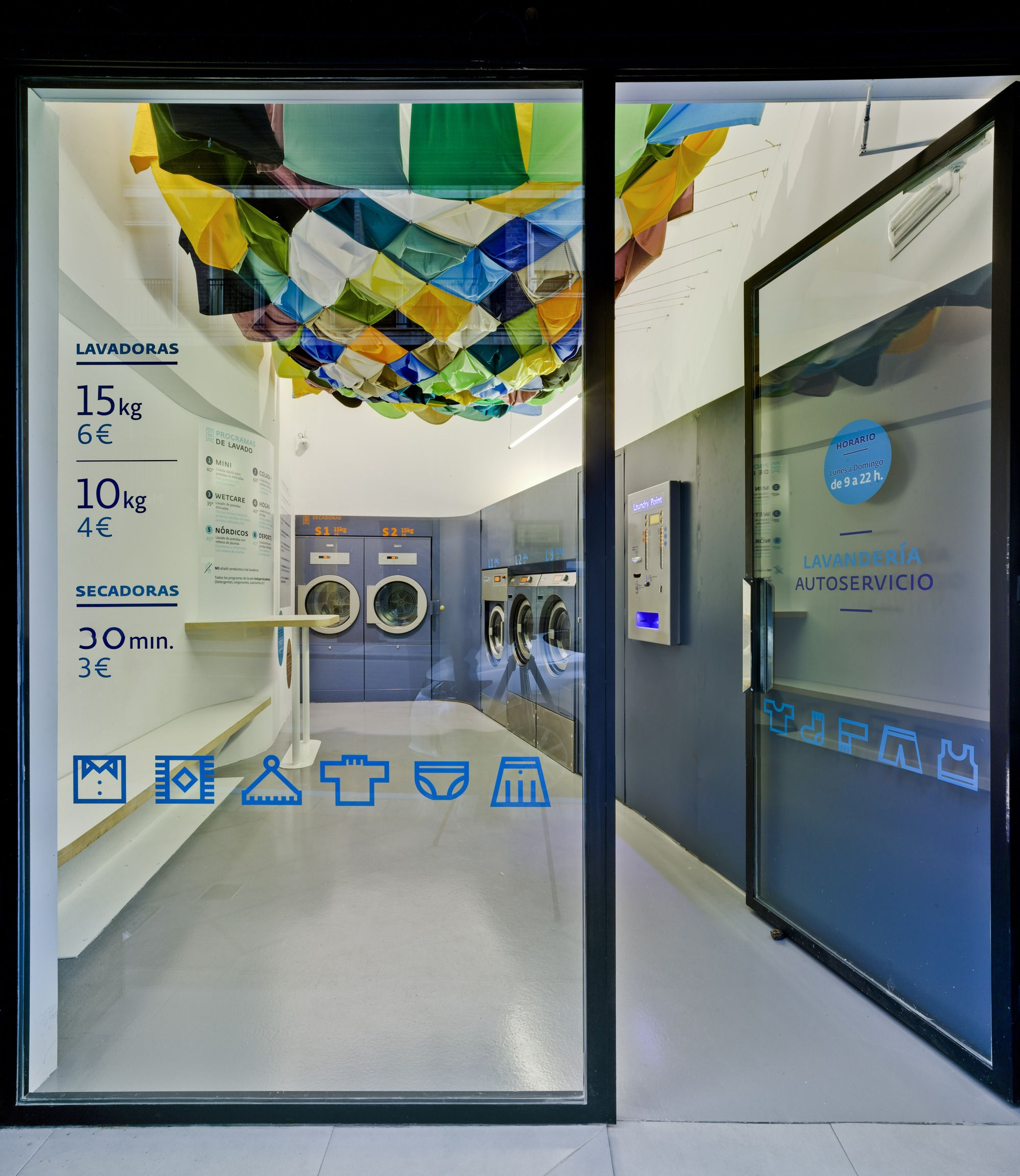 El Tendedero Antonio Macia A D Laundry Shop Laundry Design