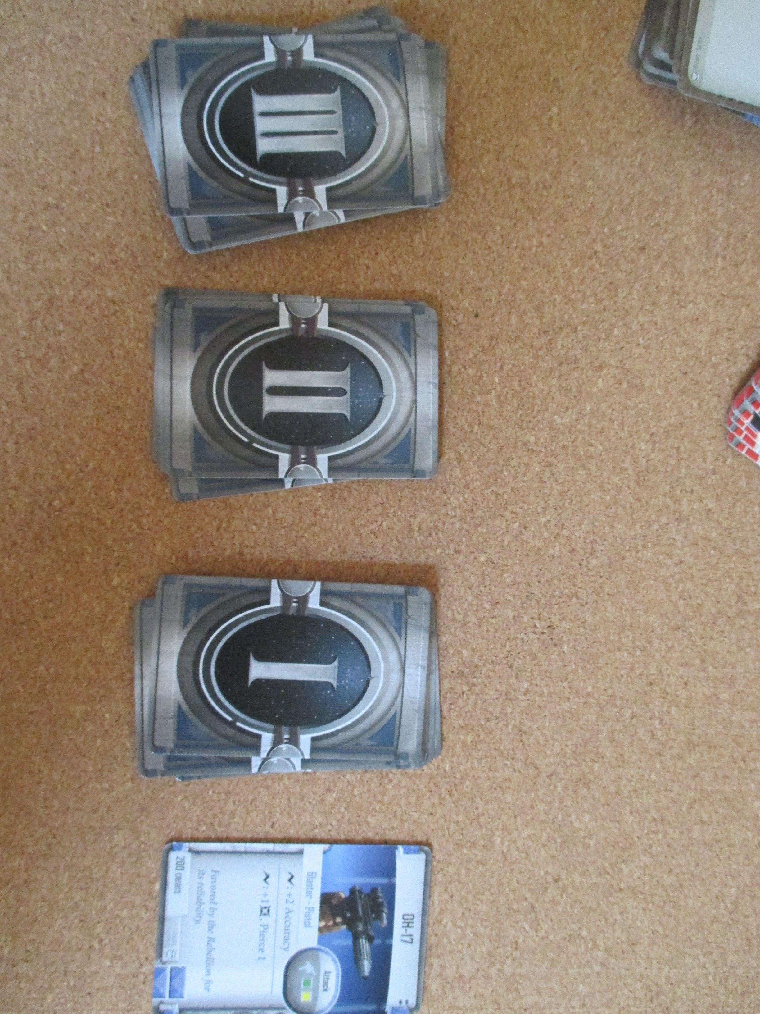 I tre tpi di carte oggetto