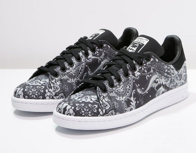 Adidas Originals STAN SMITH Baskets basses core black/white ...