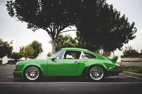 Green duck tail 911. :) #Porsche
