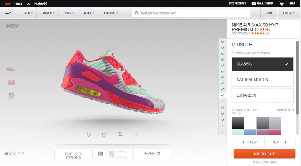 design your own sneakers online