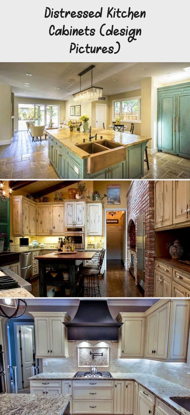 Distressed Kitchen Cabinets (design Pictures | Distressed ...