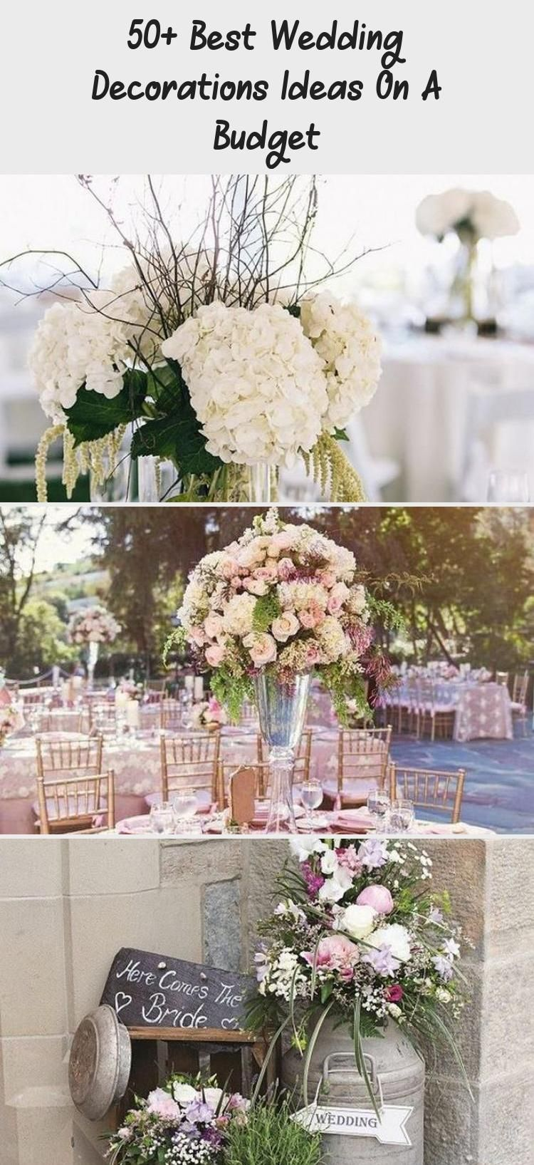 50+ Best Wedding Decorations Ideas on A Budget_20