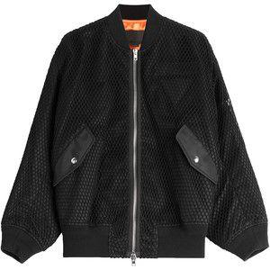 Alexander Wang Boyfriend Bomber Jacket