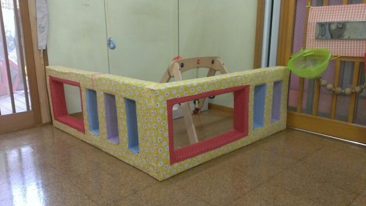 手作りおもちゃ ついに完成 Pawafurukitasenseiのブログ 手作りおもちゃ 牛乳パック おもちゃ 保育園の部屋