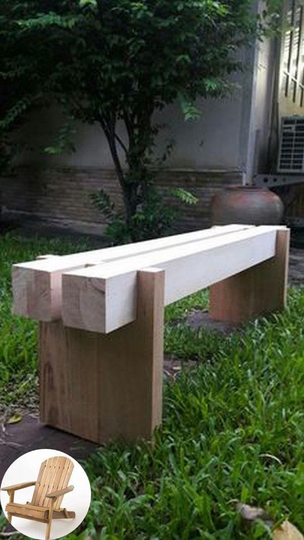 Wood Patio Furniture Em 2020 Banco De Jardim Madeira Banquinhos