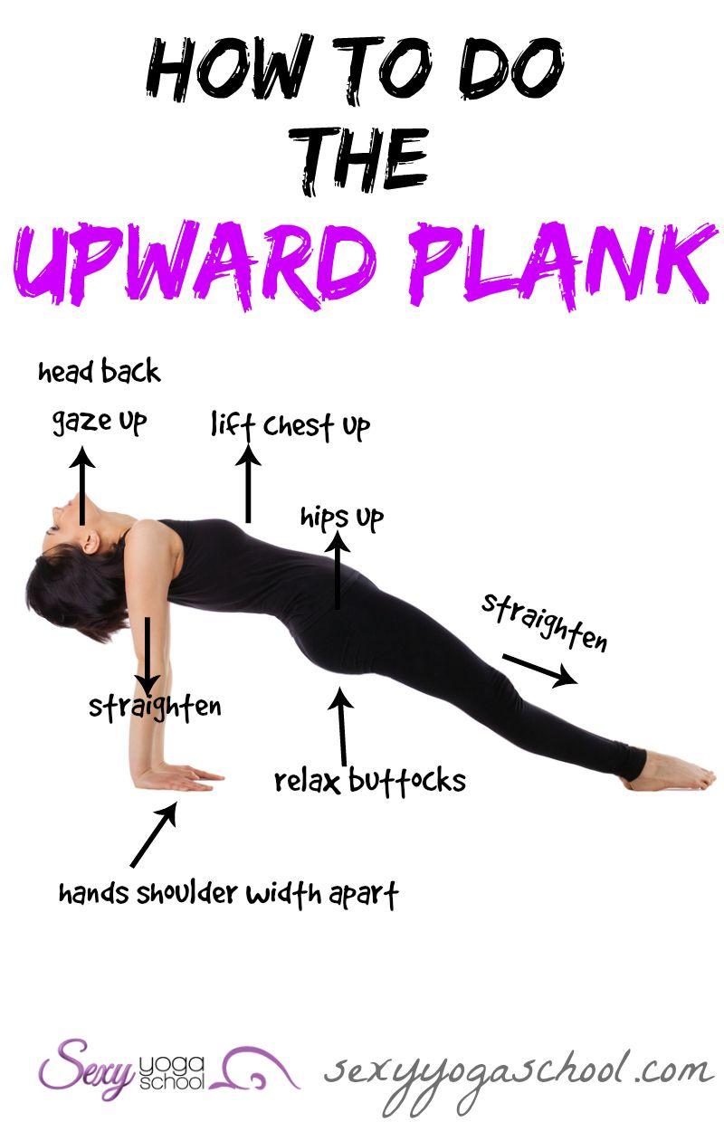 purvottanasana upward plank stepbystep yoga yoga