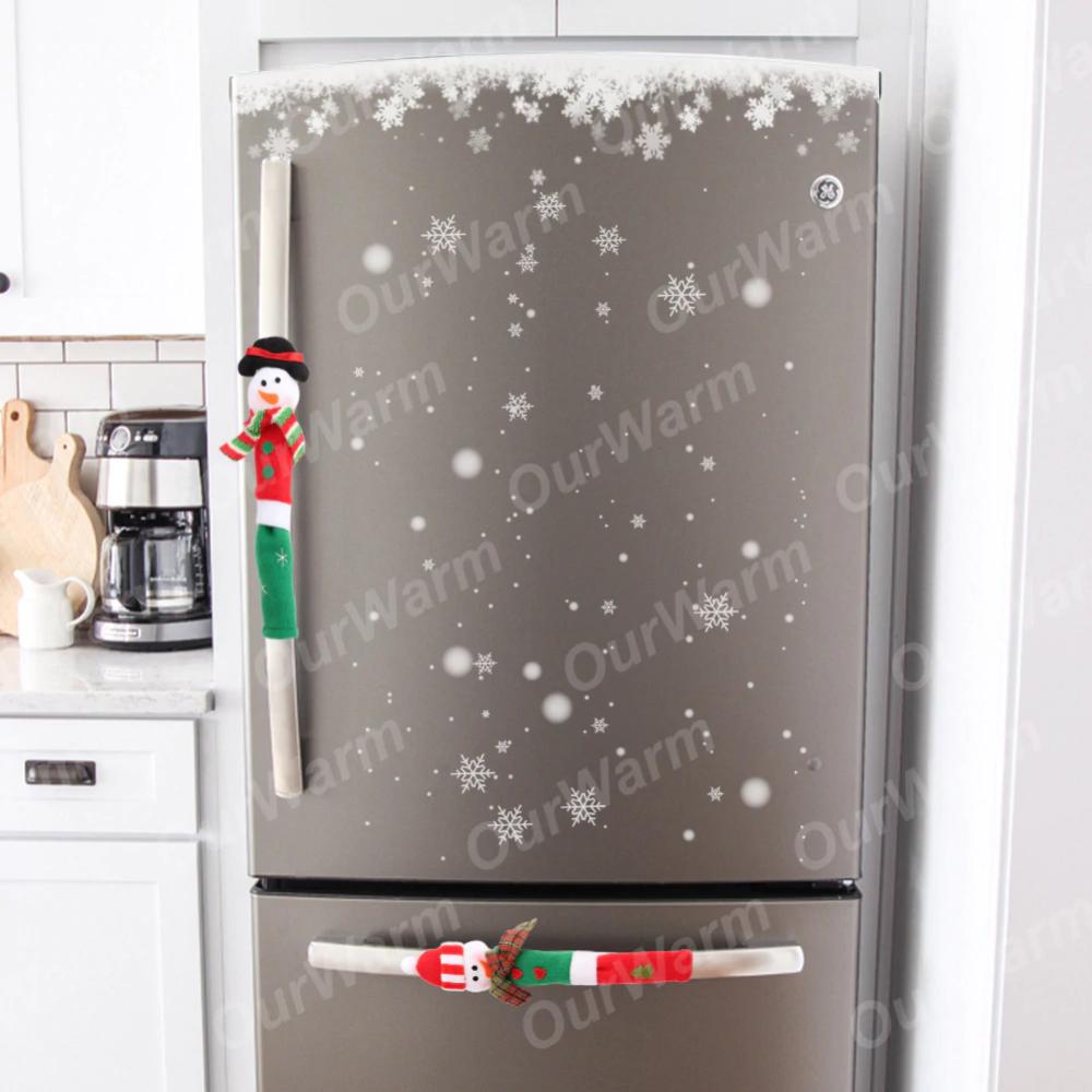 OurWarm 3pcs Maniglia Del Frigorifero Coperture Di Natale