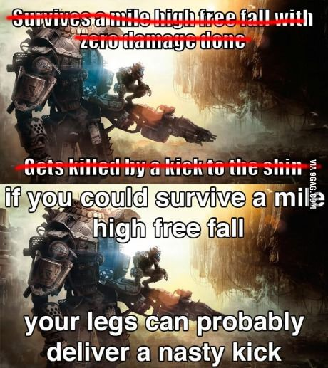 Reasonable titanfall logic | Gaming, Video games and Anime