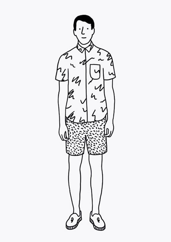 It's Nice That : Illustration: Jan Buchczik's lonely tourists series