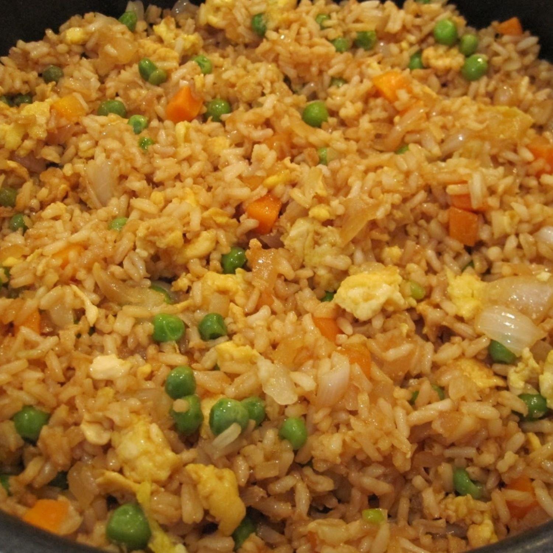 Easy Chicken Fried Rice Recipe Food Recipes Asian Recipes
